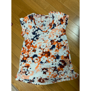 ロンハーマン(Ron Herman)のロンハーマン 購入 フラワーオレンジTシャツ(Tシャツ(半袖/袖なし))