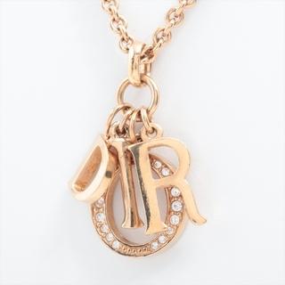 クリスチャンディオール(Christian Dior)のクリスチャンディオール ロゴ GP  ゴールド レディース ネックレス(ネックレス)