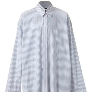 DRESSEDUNDRESSED - DRESSEDUNDRESSED レイヤードストライプシャツ