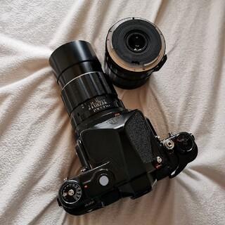 ペンタックス(PENTAX)のPENTAX 6x7 レンズ2本 ジャンク(フィルムカメラ)