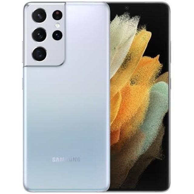 新品未開封 Samsung Galaxy s21 ULTRA 12/256G スマホ/家電/カメラのスマートフォン/携帯電話(スマートフォン本体)の商品写真