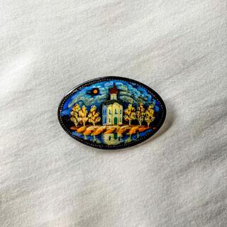 Lochie - ୨୧ Vintage rétro art night brooch