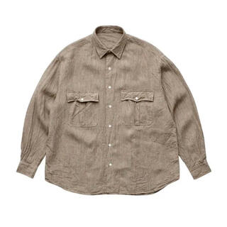 PORTER - porter classic ポータークラシック ROLL UP SHIRT L
