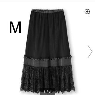 ジーユー(GU)の新品GUコンビネーションロングスカートMサイズ(ロングスカート)