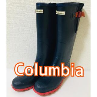 コロンビア(Columbia)のコロンビア レインブーツ 25センチ 【美品】(レインブーツ/長靴)