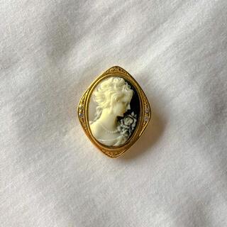 グリモワール(Grimoire)の୨୧ Vintage rétro Lady European Scarf Pin(バンダナ/スカーフ)