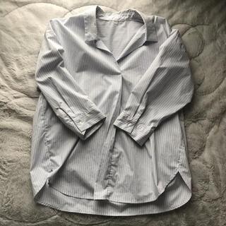 ジーユー(GU)の美品♡GU♡ストライプシャツ(シャツ/ブラウス(長袖/七分))