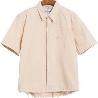 ジルサンダー(Jil Sander)の◆JIL SANDER シャツの半袖 S(シャツ/ブラウス(半袖/袖なし))