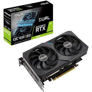 エイスース(ASUS)のASUS RTX NVIDIA 3060 搭載 デュアルファンモデル(PCパーツ)