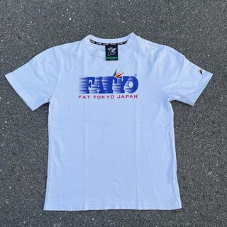 00s 古着 FAT フリスク 企業モノ 企業ロゴ tシャツ