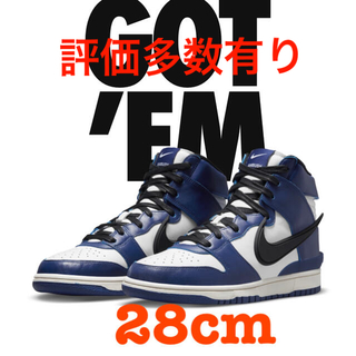 "NIKE - NIKE DUNK HIGH ""DEEP ROYAL"" ダンク アンブッシュ"