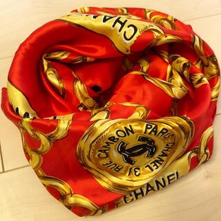 シャネル(CHANEL)のシャネル スカーフ(バンダナ/スカーフ)
