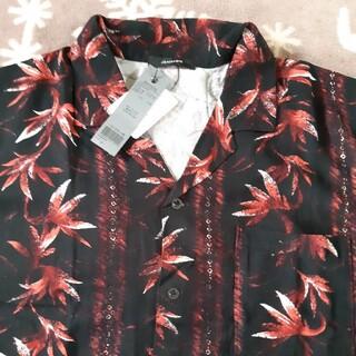 ジーナシス(JEANASIS)のアロハBIGシャツ☆新品(シャツ/ブラウス(半袖/袖なし))