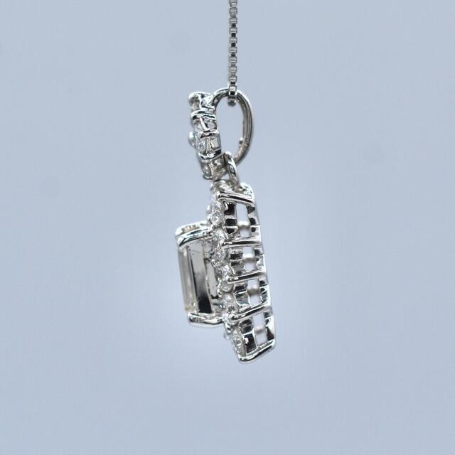 計1.194ct バゲットカット ダイヤモンド ネックレス PT900 プラチナ レディースのアクセサリー(ネックレス)の商品写真