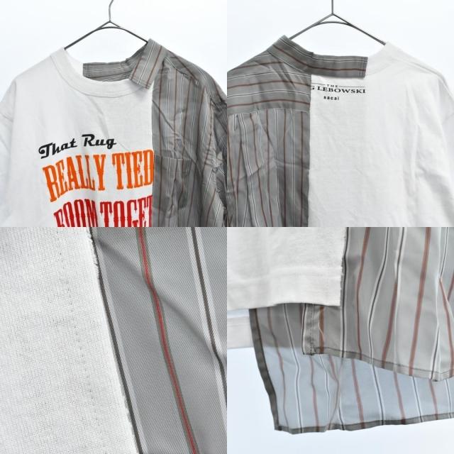 sacai(サカイ)のSacai サカイ 半袖Tシャツ メンズのトップス(Tシャツ/カットソー(半袖/袖なし))の商品写真