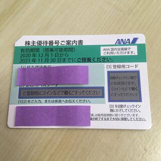 エーエヌエー(ゼンニッポンクウユ)(ANA(全日本空輸))のANA 株主優待 2021年11月30日期限 1枚(その他)