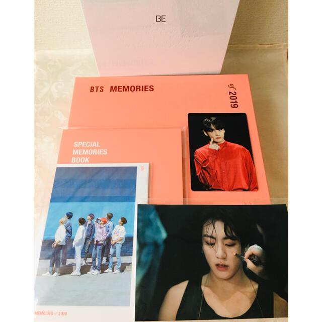 BTS メモリーズ 2019  / BE デラックス 【しおり様専用】 エンタメ/ホビーのCD(K-POP/アジア)の商品写真