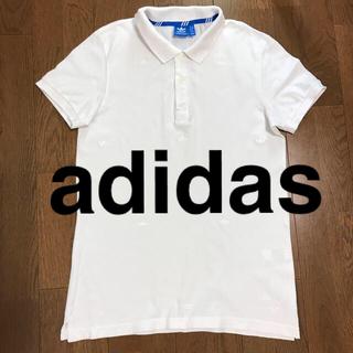 アディダス(adidas)のadidas ポロシャツ   L(ポロシャツ)