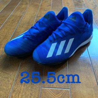 アディダス(adidas)のアディダス サッカー トレシュ エックス 19.3 TF 25.5cm(シューズ)