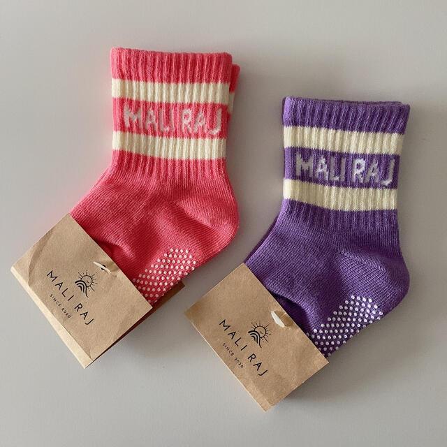 マリライ  ベビー 靴下 キッズ/ベビー/マタニティのこども用ファッション小物(靴下/タイツ)の商品写真