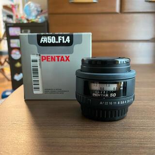 ペンタックス(PENTAX)のPENTAX SMC PENTAX-FA 50mm F1.4(レンズ(単焦点))