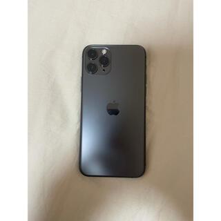 Apple - iPhone11 pro スペースグレイ space gray 256GB