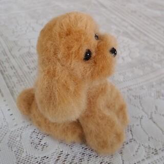 トイプードル 羊毛フェルトハンドメイド(その他)