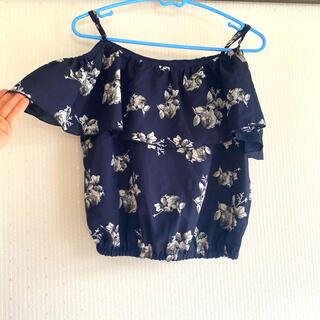 グレイル(GRL)の肩あき シフォン 半袖(シャツ/ブラウス(半袖/袖なし))