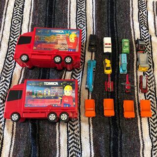 タカラトミー(Takara Tomy)のトミカ等15台 運ぶよトラック(ミニカー)