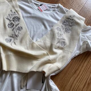 シマムラ(しまむら)のビスチェセット(Tシャツ(半袖/袖なし))