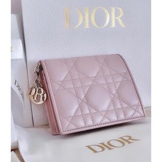 """クリスチャンディオール(Christian Dior)のDIOR ラムスキン """"LADY DIOR"""" ウォレット (財布)"""