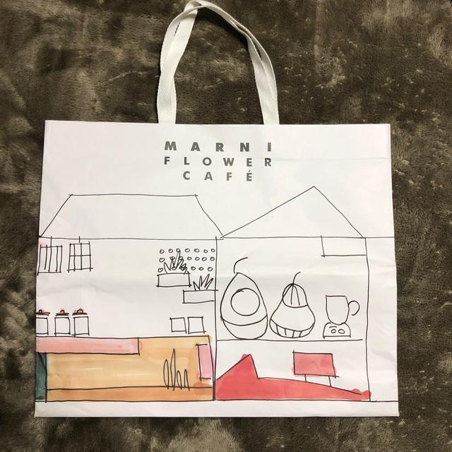 Marni(マルニ)のMARNI マルニ 美品 マルニ MARNI ストライプバッグ マルチピンク レディースのバッグ(トートバッグ)の商品写真
