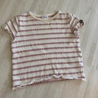シマムラ(しまむら)のバースデー購入☺︎ ボーダーTシャツ80(Tシャツ)