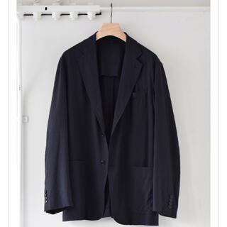 COMOLI - COMOLI 21ss ウール2Bジャケット ネイビー サイズ1 新品・未使用