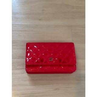 シャネル(CHANEL)のCHANEL バッグ 鞄 チェーンウォレット 財布(クラッチバッグ)