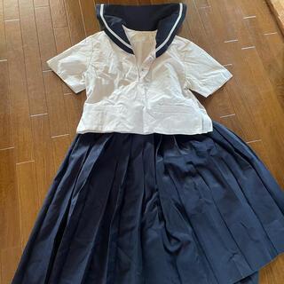 セーラー服 4点セット 夏2枚 春1枚 スカート(セット/コーデ)