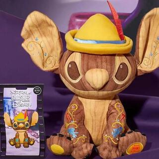 ディズニー(Disney)のピノキオ スティッチ ディズニーストア ぬいぐるみ ピンバッジ 限定品(ぬいぐるみ)