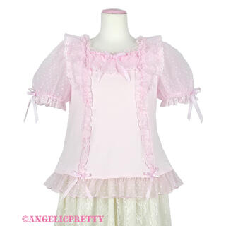 Angelic Pretty - Angelic Pretty Lovely Frillカットソー
