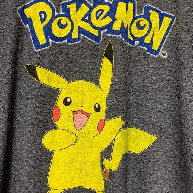 ART VINTAGE(アートヴィンテージ)のアメリカ古着 Pokemon ピカチュウ プリントT オーバーサイズ ポケモン メンズのトップス(Tシャツ/カットソー(半袖/袖なし))の商品写真