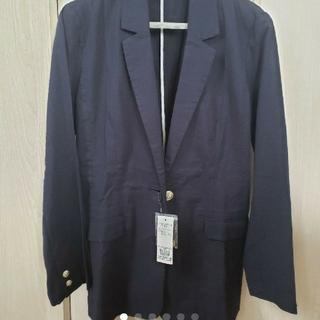 ドレスキップ(DRESKIP)のネイビージャケット 紺ブレ 金ボタン(テーラードジャケット)
