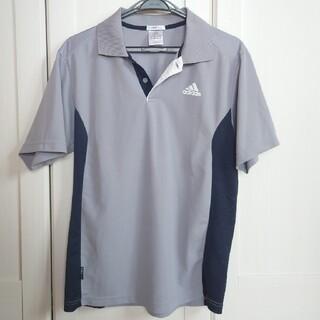 アディダス(adidas)のadidas 襟付き半袖シャツ(ポロシャツ)