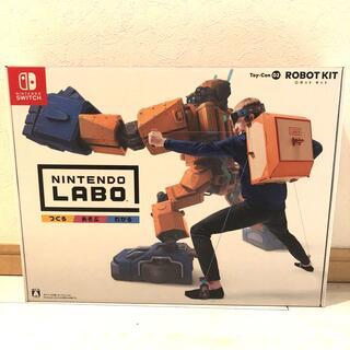 ニンテンドウ(任天堂)の【新品】Nintendo Labo Toy-Con 02: Robot Kit(家庭用ゲームソフト)