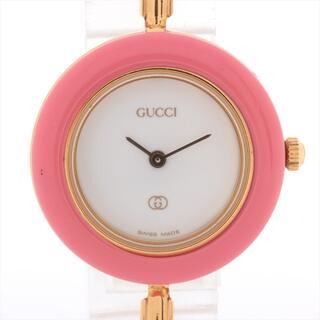 グッチ(Gucci)のグッチ チェンジベゼル GP   レディース 腕時計(腕時計)