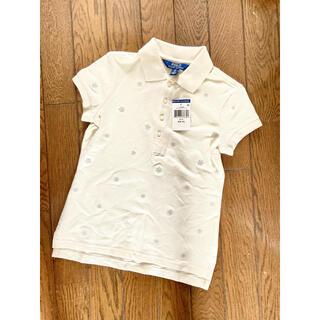 ポロラルフローレン(POLO RALPH LAUREN)のポロシャツ 130 120 雪柄 ラルフローレン スノーフレーク柄 新品(その他)