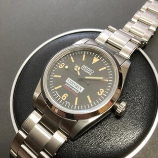 セイコー(SEIKO)のセイコーエクスプローラーカスタム ビンテージ リベットブレス NH35A(腕時計(アナログ))
