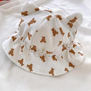 futafuta - くまさん帽子🧸 Sサイズ