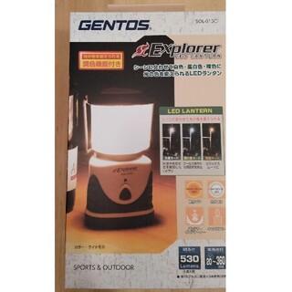 ジェントス(GENTOS)のジェントス ランタン SOL-013C  新品未使用(ライト/ランタン)
