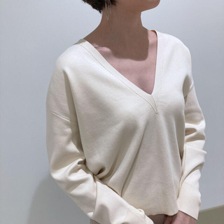 セオリー(theory)のTheory 21ss Vネックプルオーバーニット(ニット/セーター)
