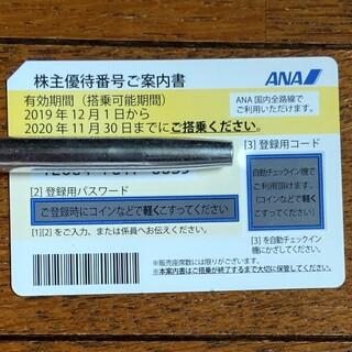 エーエヌエー(ゼンニッポンクウユ)(ANA(全日本空輸))のANA 株主優待割引カード  2021年5月31日(航空券)