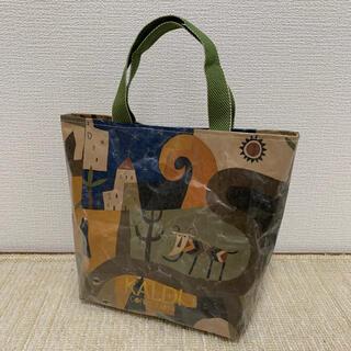 カルディ(KALDI)のKALDI カルディ 紙袋リメイク トートバッグ(バッグ)